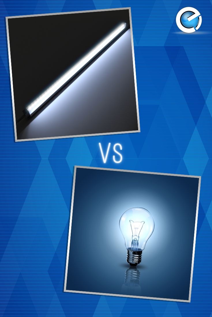 💭💡🔎 Fun Trivia 🔎💡💭  Electric light bulbs are incandescent - which means that their light comes from a thin tungsten wire, or filament. It glows and burns out when heated by an electric current, whereas LED lights are illuminated solely by the movement of electrons in a semiconductor material. The lifespan of a LED surpasses the short life of an incandescent bulb by thousands of hours.