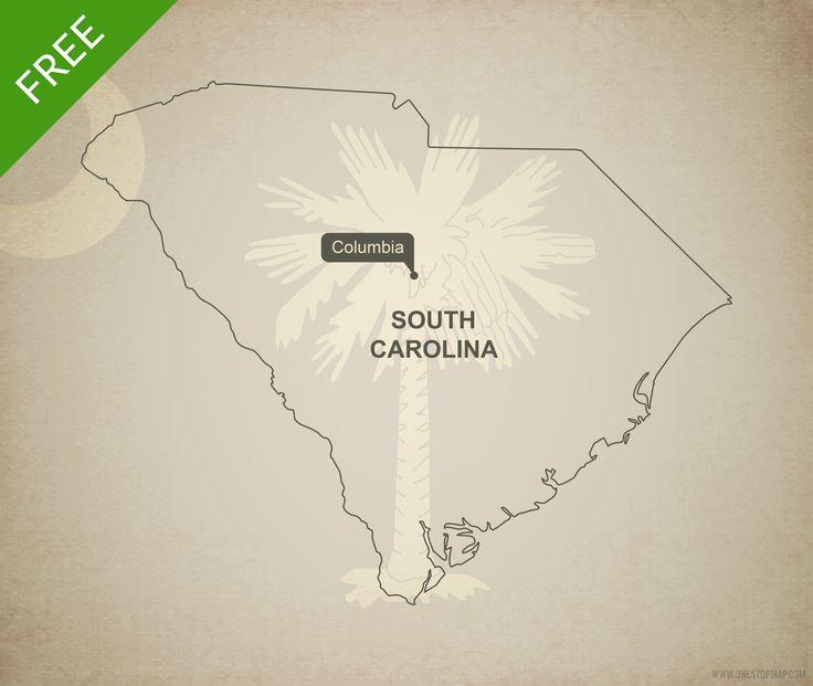 university of south carolina map pdf