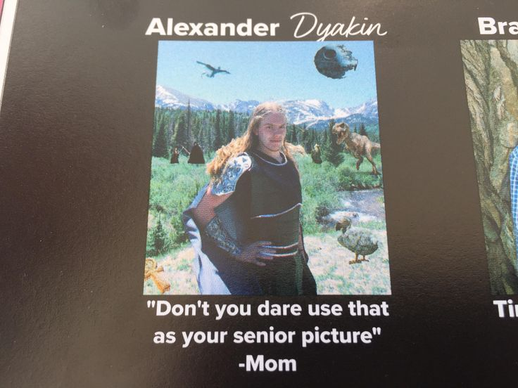 Best senior quote and picture in my yearbook   funny pictures