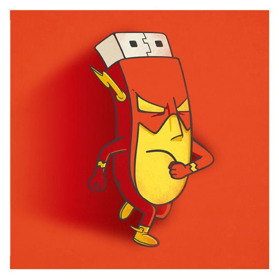 the flashdisk