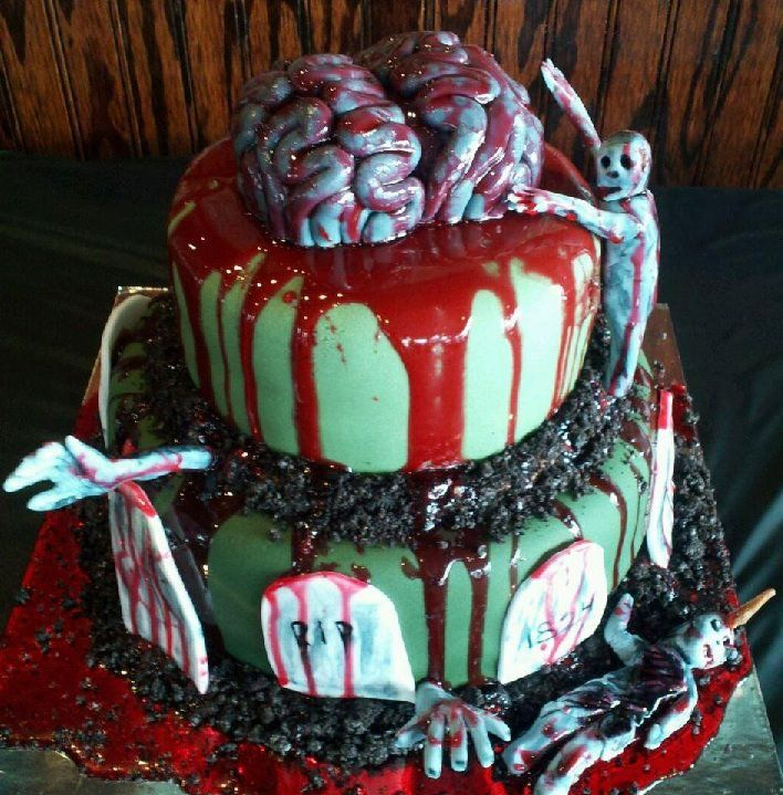 412 best Twisted Cakes images on Pinterest Cakes Halloween