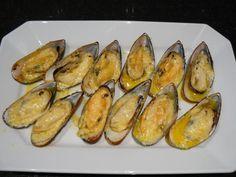 Cheesy Chinese Buffet Mussels