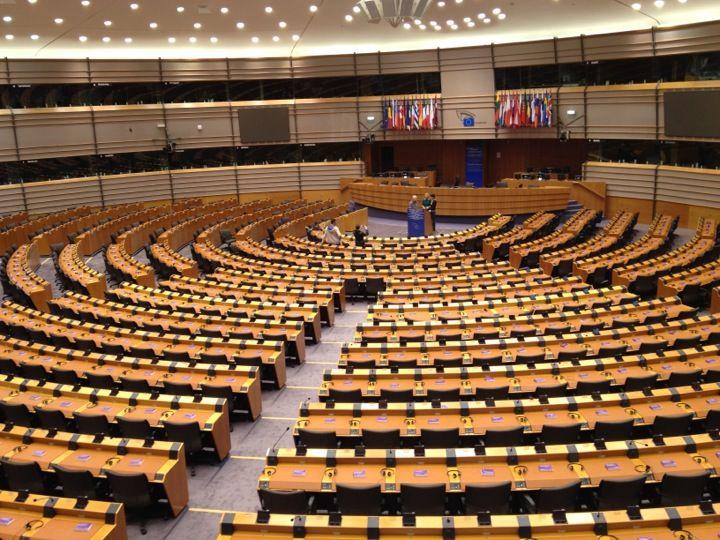 Parlement Européen / European Parliament in Etterbeek, Bruxelles-Capitale