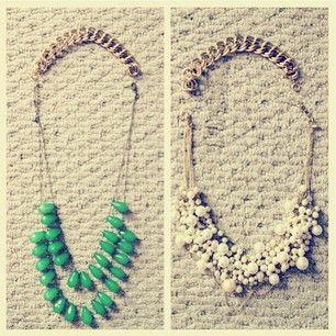 Make necklaces longer by adding a bracelet.