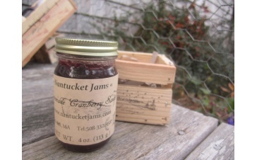 Nantucket Beach Plum Jelly-- from the 2012 harvest, and Tedy is down to just a few more jars.  Essential late-summer taste.