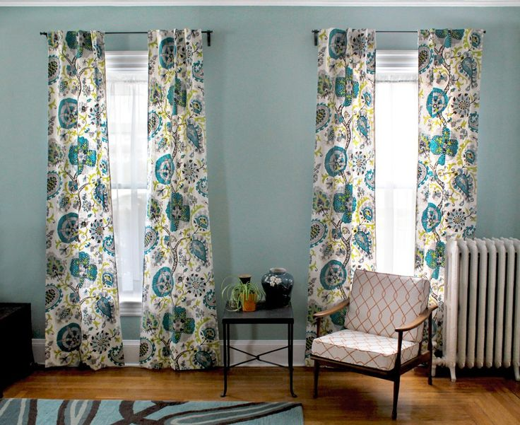 how to make tab top curtains with buttons