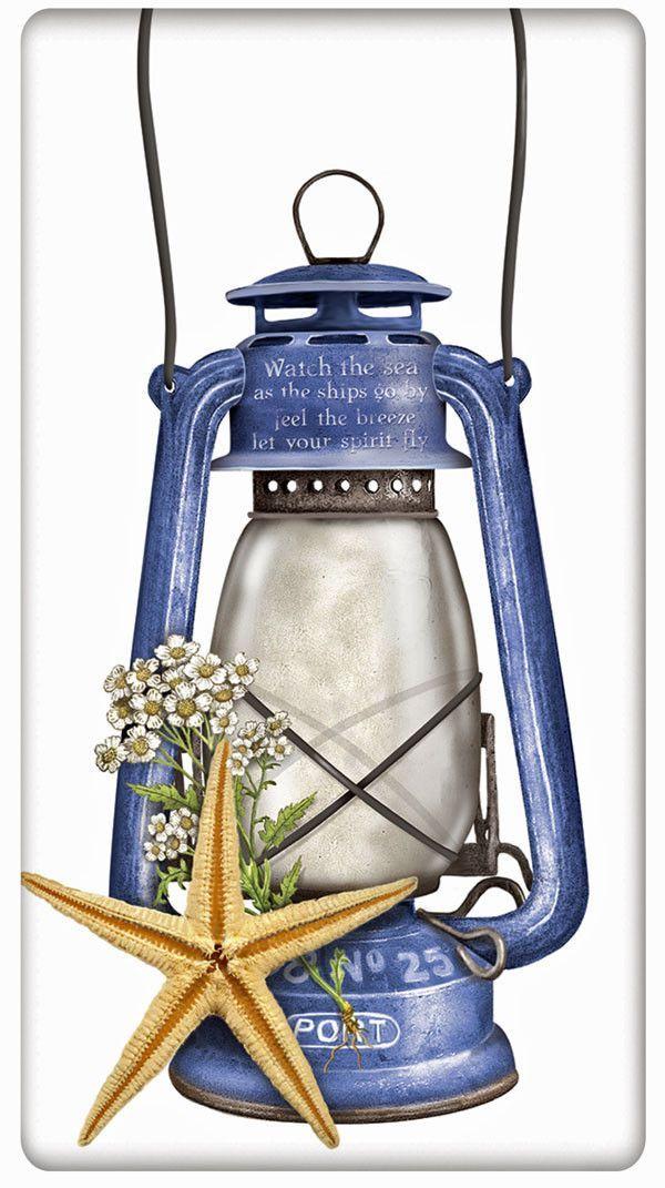 Lantern Kitchen Towels Flour Sack - Pesquisa Google