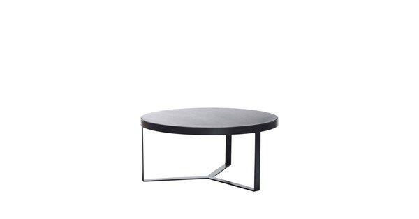 Copper soffbord - svartbetsad ek, höjd 37 cm - Soffbord & småbord – Möbler från Svenssons i Lammhult