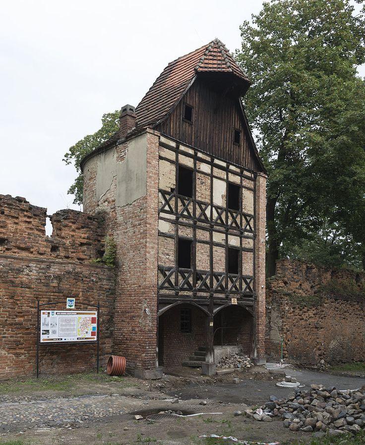 Gołębia Tower in Ząbkowice Śląskie