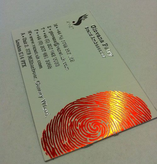 12 best printing metallic foil images on pinterest business metallic foil business card styleprint printgoldcoast reheart Choice Image