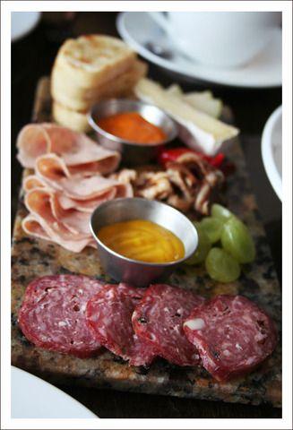 Charcuterie plate - Sante Restaurant & Charcuterie, Spokane