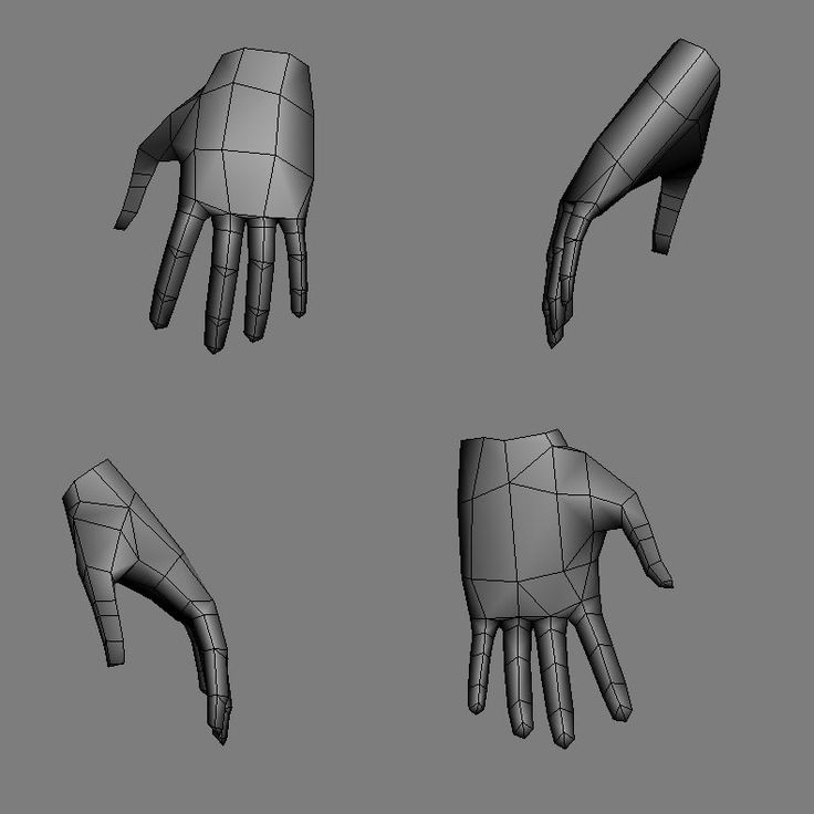 Low Poly - Hand