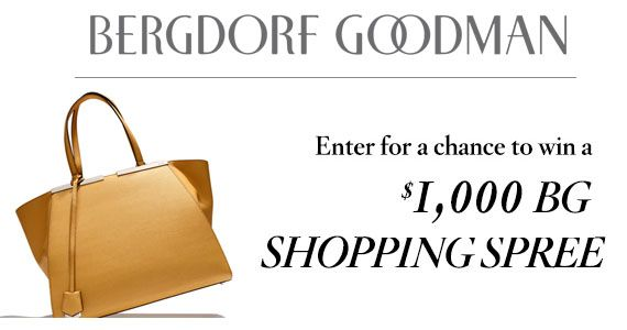Win a $1000 Bergdorf Goodman Shopping Spree