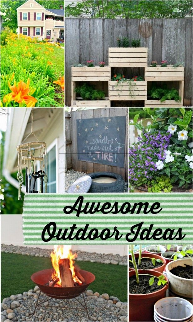 Awesome Outdoor Ideas