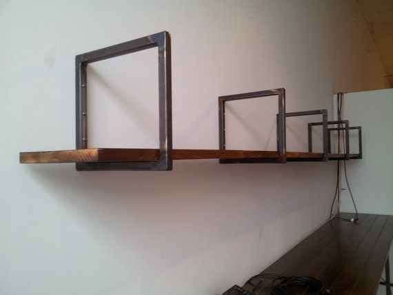 Steel Squared - welded steel shelving brackets - Free Shipping in the Continental U.S.! on Etsy, £30.93