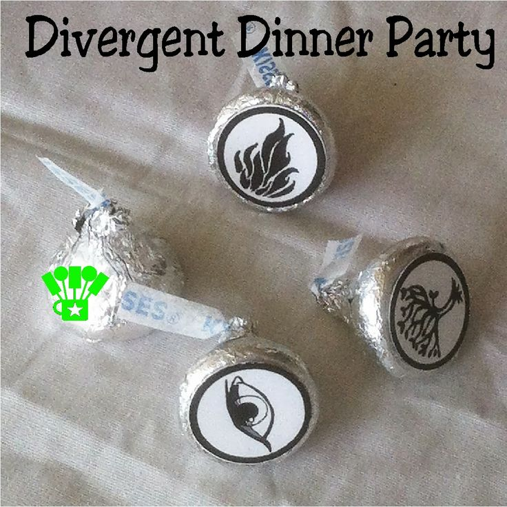 Kandy Kreations: Divergent Family Dinner Party