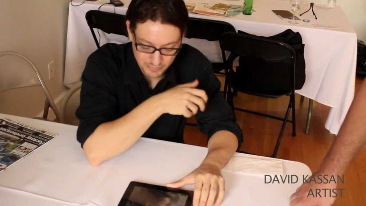 ArtRage Live Painting with David Jon Kassan @Stonehenge NYC (+playlist)