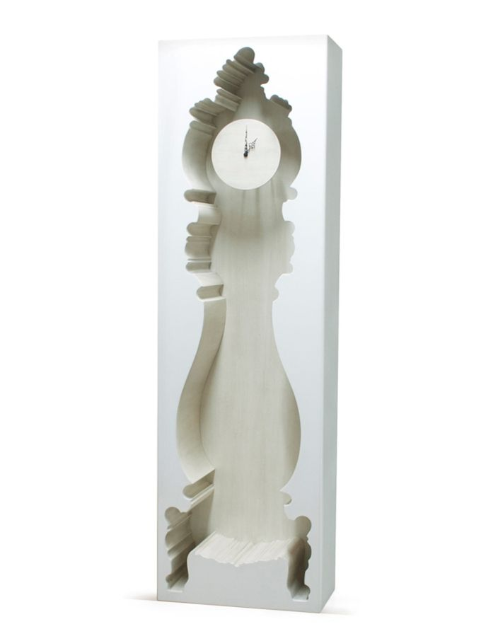 InsideOut Clock from Eclectic Outdoor Style on Gilt