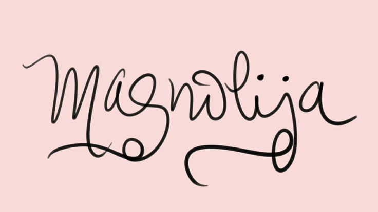 Baby girl's flower name Magnolija. I just met a Swedish girl on this name board who has this name, a Nordic elaboration on newly-popular name Magnolia.