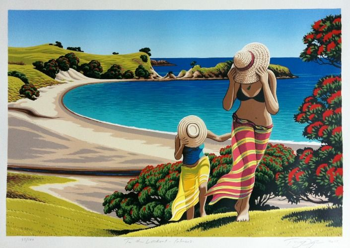 """New Tony Ogle Print for Sale """"To the Lookout"""""""