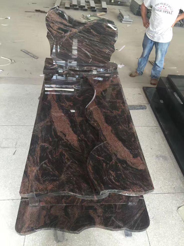 Multircolor-Red Granite Monument, gravestones for sale, how much do headstones cost