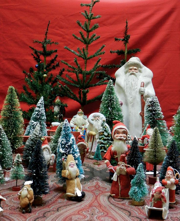 1000 images about vintage christmas decorations on for Antique christmas tree decoration