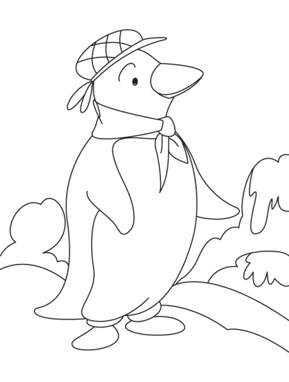 10 best Christmas play 2013 images on Pinterest - new christmas coloring pages penguins