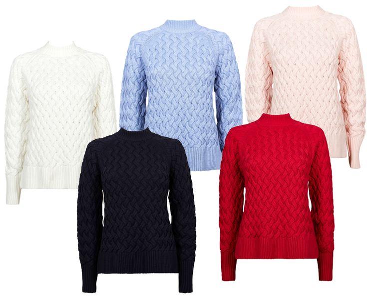 Stickade tröjor från Cubus