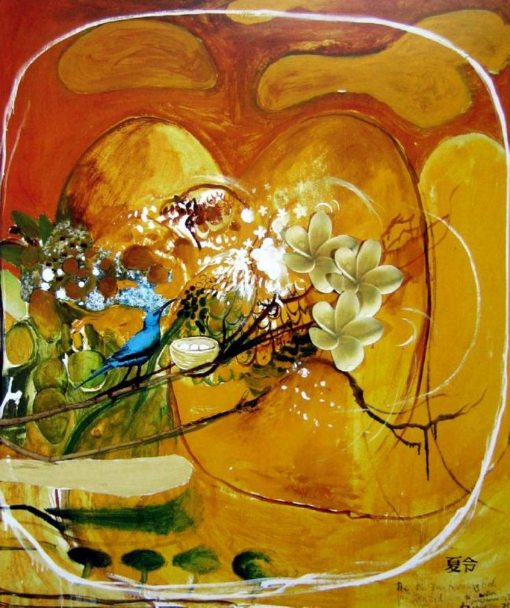 Brett Whiteley, The Little Green Humming Bird, 98x85cm, 1979.