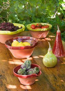 Barbotine Poterie d'antan - Aubagne - Provence. Tian typique provençal