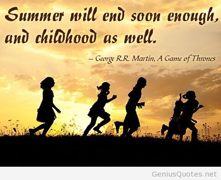Cute summer quotes with end
