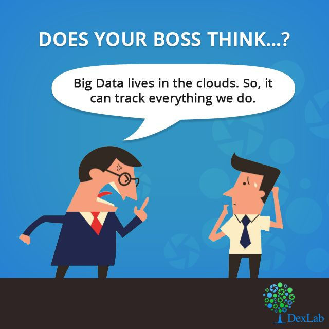 The kinds of ideas your boss thinks about #BigData…