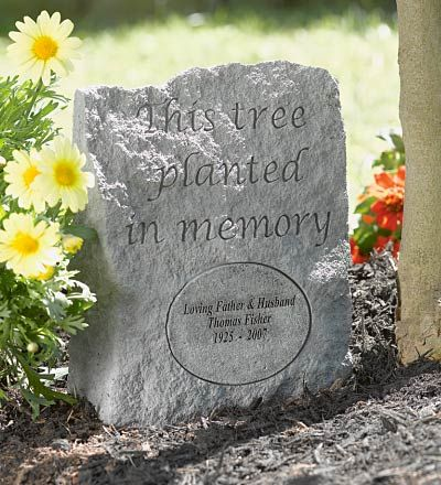 Garden Memorial Plaques And Decorating Ideas