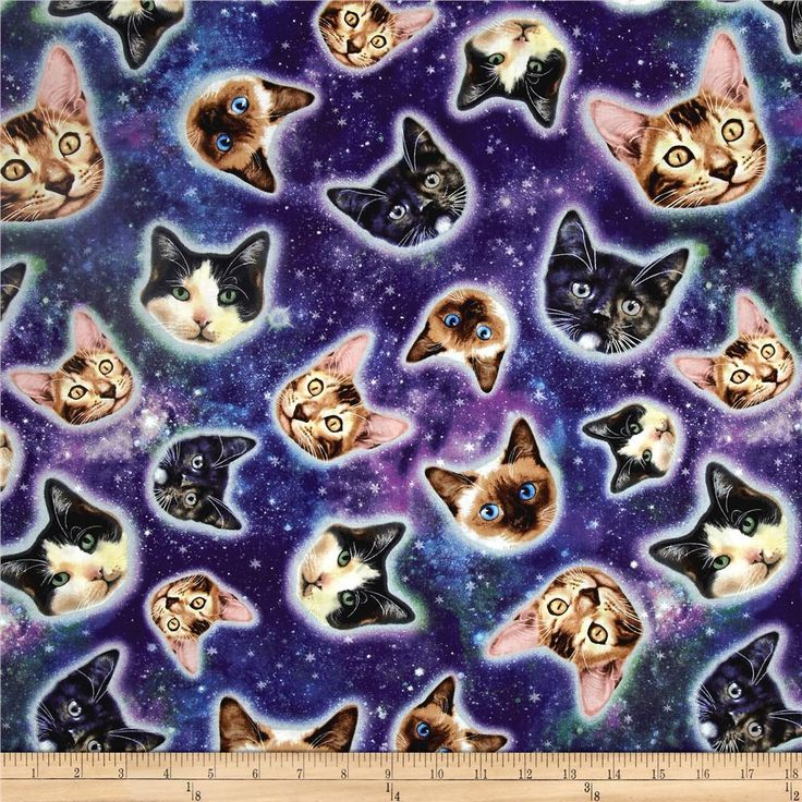 282 best fabric images on pinterest accent colors home for Space cat fabric