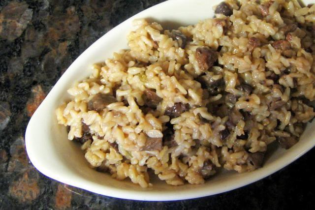 Brown Basmati Rice Pilaf: Basmati Brown Rice Pilaf With Pecans