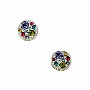 Baloo Earrings in Silver Celebration by Patricia Locke Jewelry
