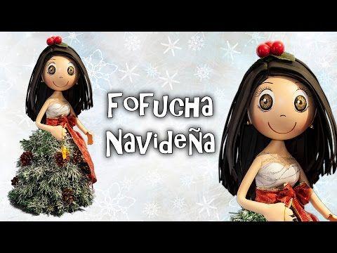 FOFUCHA NAVIDEÑA - GOMA EVA - YouTube