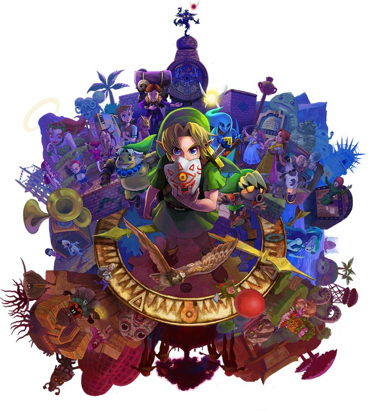 Zelda Wallpapers: 17 Best Images About Majora's Mask~Legend Of Zelda On