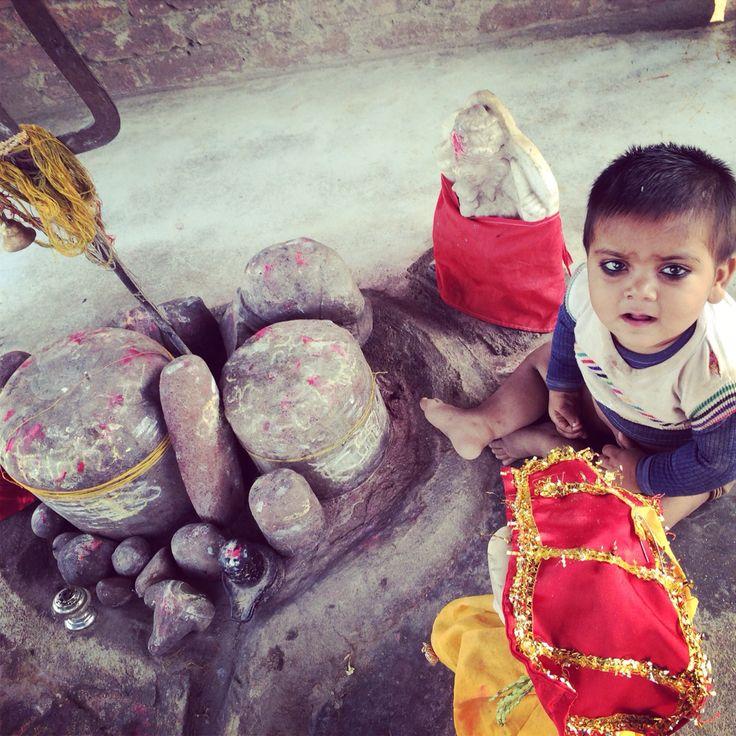 Niece at shivmandir Chandpura Etawah