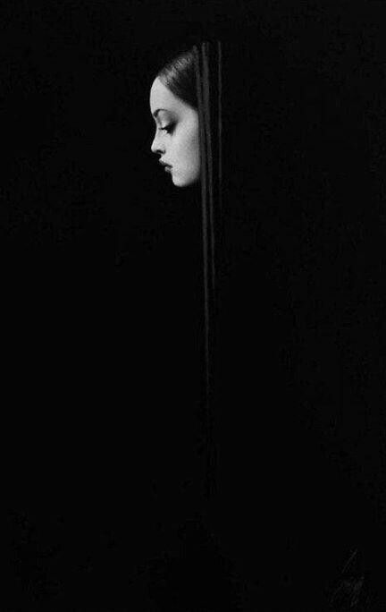 Ever feel like your just barely here - just a ghost of yourself.....fading out of sight?