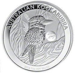 New Kookaburra silver coin with privymark HORSE, found at www.Silber-Philharmoniker.de
