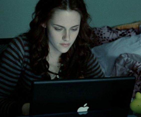 Product Placement in Kinofilmen - twilight / Apple