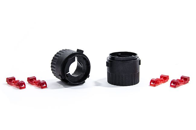 RFB MK6 GTI/B7 Passat Bulb Adaptors #uspmotorsports #usp #volkswagen #porsche #vw #audi #automotive #audizine #vortex #rfb #spulen #oem #performance  #passat #b7 #hid #lights