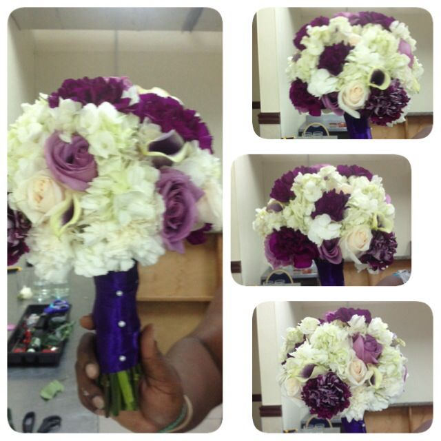 Wedding Bouquets Jamaica : Best images about purple themed wedding ideas on