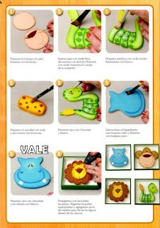 fun foam painting tutorial with patterns
