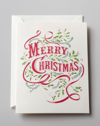vera wang vintage Christmas cards
