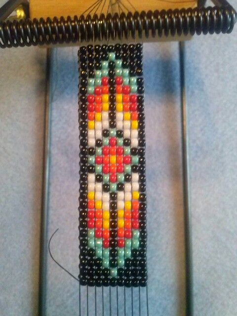 Bead loom... future barrette?