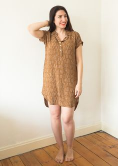 Kalle shirt dress   Why I'm in love with shirt dresses and my tester version of the new Closet Case pattern