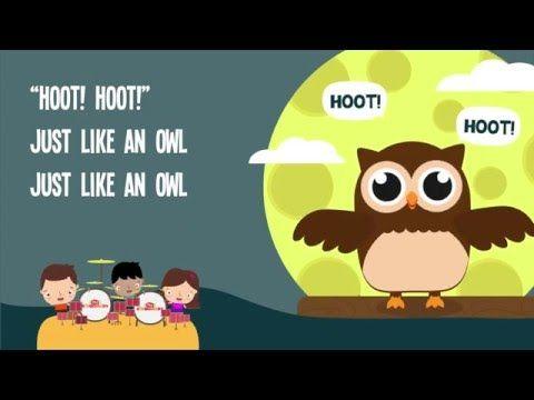 Owl Song for Kids   Animal Songs for Children   The Kiboomers - YouTube