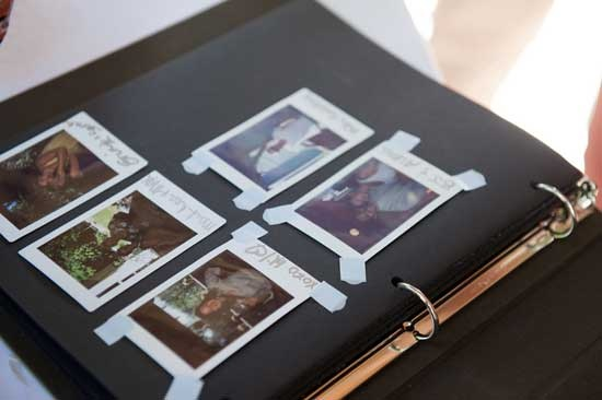 how to take a polaroid of a picture